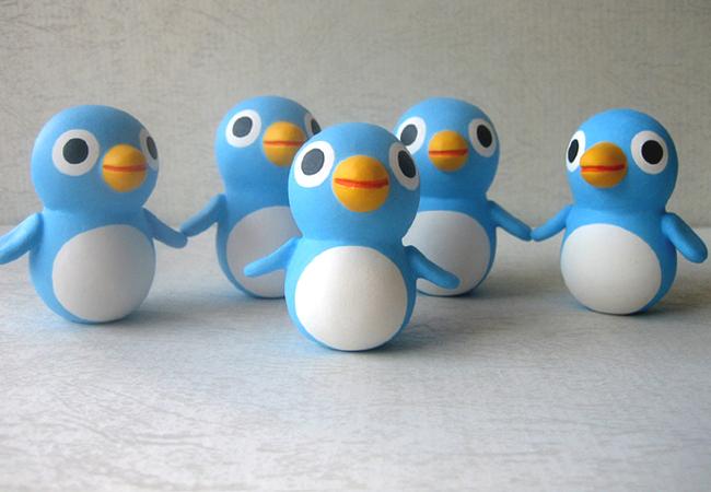 ぴょこぴょこペンギン