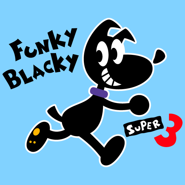 Funky Blacky Super 3